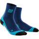 cep Dynamic+ Short Socks Men deep ocean/hawaii blue